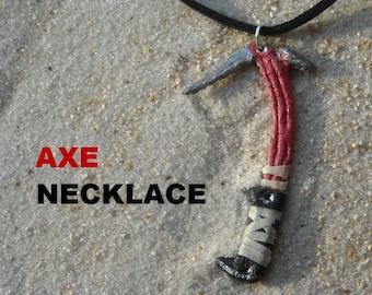 Lara Croft's Axe Necklace / Pendant / Chocker / Tomb Raider 2013  Rise of the Tomb Raider