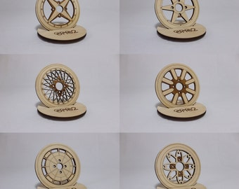 Japanese Wheel Coasters 002