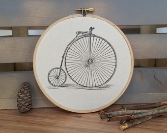 Vintage Bicycle hoop