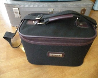Train Case , carry on, makeup case, overnite case