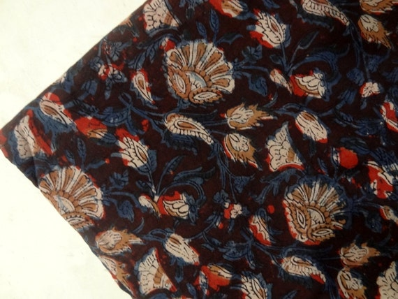 Items similar to block print fabric indian fabric cotton for Modern home decor fabric prints