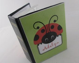 Girl photo album - red ladybug 100 pictures- 4x6 129