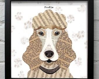 Poodle dog print