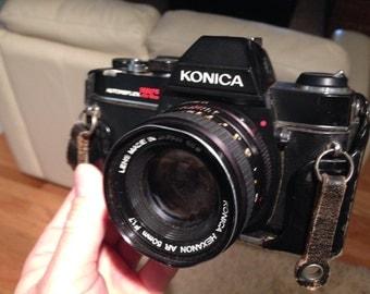 Konica autoreflex TC camera