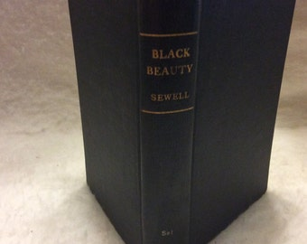 Black Beauty Anna Sewell 1940s good condition. Free shipping