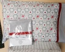 Pillowcase of the Month Club - Cotton Snowflake Kit