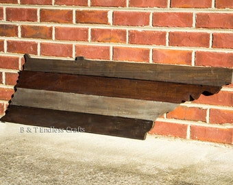 State of Tennessee Reclaimed  wood sign
