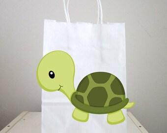 Turtle Goody Bags, Turtle Favor Bags, Turtle Gift Bags