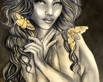 Moth Girl Limited Edition Print