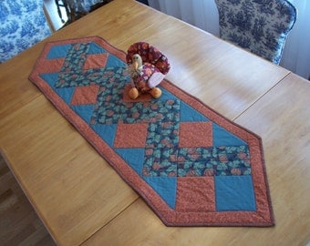 Thanksgiving Table Runner, Fall Table Runner, Autumn Table Runner