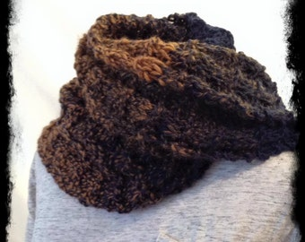 Women's men's lightweight hand Knit scarves handmade soft long winter scarves, gold and navy blue wool scarf for men or women