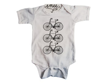Hipster Baby Clothes, Hipster Baby Boy Clothes, Hipster Baby Girl Clothes, Bicycle Baby Clothes, Bike Shirt, Bicycle Shirt