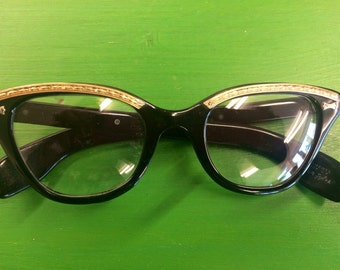 1950s Retro Prescription Eyeglasses