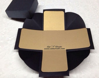Exploding Box Invitations Exploding Boxes DIY Exploding Boxes DIY Exploding Box Invitations DIY Exploding Box 10 Included