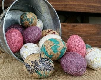 Dozen Decorative easter eggs