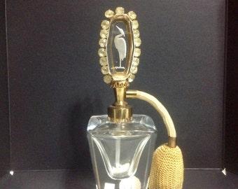 IRice All Original Vintage Hand Cut Parfume Atomizer / Bottle