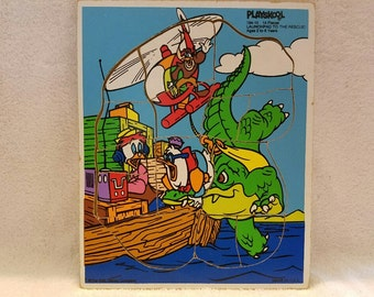 Vintage Playskool DuckTales Puzzle
