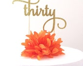 Milestone Age Cake Topper - Adult Years (font choice #1)