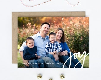 Holiday Photo Card - Newlywed, Family, Children, Baby - Dancing Joy