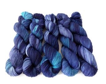 Sock Yarn Superwash Merino/Nylon 4ply Handdyed Yarn: POLLUX