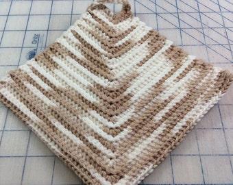 Hand made, crocheted pot holders