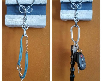 Jewelry or Key holder Distressed/Rustic Wood Wall Hanging
