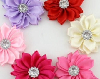Set of 6 hair clips