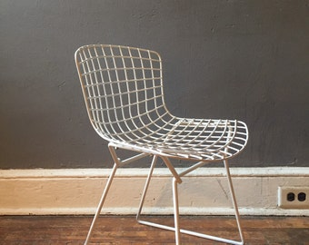 Mid century modern chair bertoia chair childs desk chair