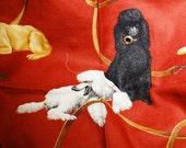 Designer Poodle Fabric  Eric Cohler Linen for Lee Jofa Sewing Crafts