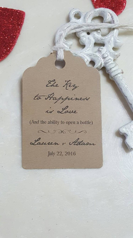 Personalized Wedding Gift Tag Stickers : Personalized Favor Tags 2.5