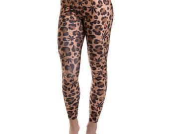 Miss Mary Jane Co. Weed Leopard Leggings!