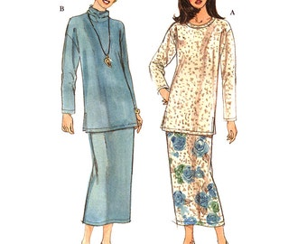 Simplicity Sewing Pattern 8335 Misses' Tunic, Skirt  Size:  A  6-24  Uncut