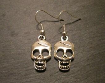 Walking Dead Skulls Charm Earrings