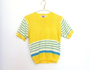 Womens early '80s knitted top