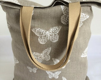 Tote bag, Shopper bag, Market bag, Bag for books.