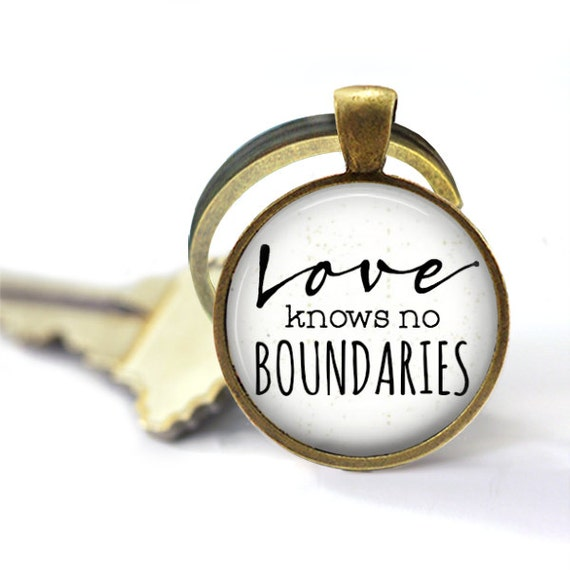 Love Knows No Boundaries, Adoption Keychain, Graduation Gift, Globe Keychain, Gift For Missionary, Travel Gifts, Key Chain, Purse Charm