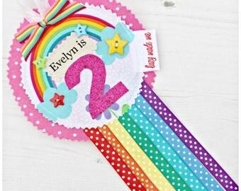 Personalised Rosette Badges