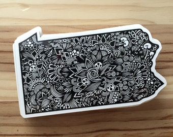 Zentangle - PA Love