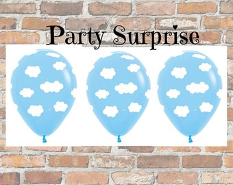 Cloud Balloons Baby Shower Dreamy Clouds New Baby Boy Girl Balloons