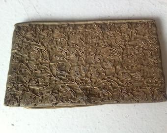 Vintage 1920's golden purse enveloppe
