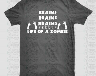 Shirt - Adults - Life of a Zombie