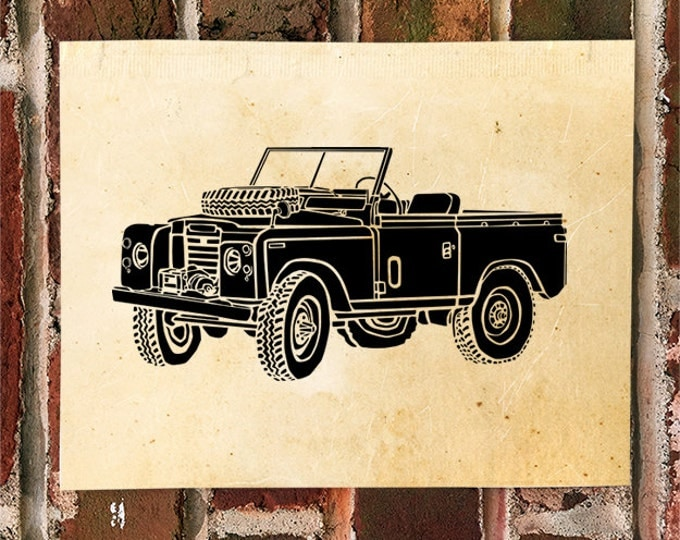 KillerBeeMoto: Limited Print Vintage 1970's All Terrain Vehicle Print 1 of 50