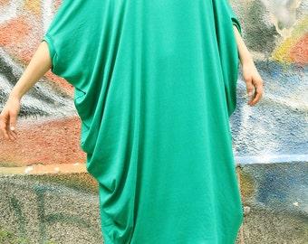 Dress / Loose dress / Maxi dress / Black extravagant asymmetric dress / Plus size tunic / Over size dress by UrbanMood - CO-RAYA-VL