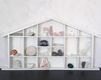 Shelf for wall, crystals, altar, ornaments, decor