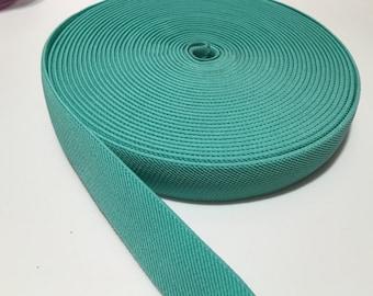 1 in mint suspender elastic,1 in waistband elastic, elastic by the yard, wholesale elastic