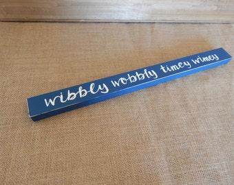 Doctor Who - Wibbly Wobbly Timey Wimey