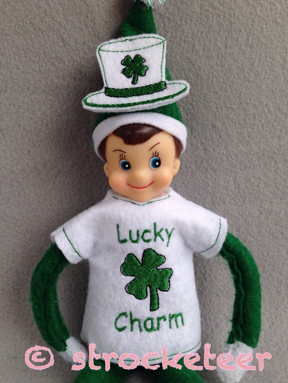 Lucky Charm St Patrick S Day Elf Outfit Shirt Amp Hat