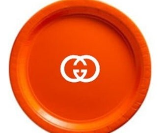 Designer Inspired 9 Inch Plates (25)