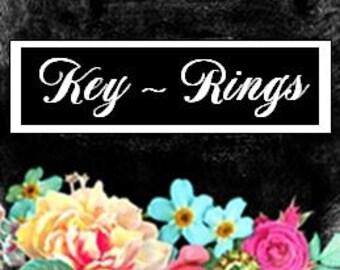 Key Rings!
