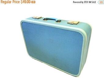 ON SALE Powder Blue Suitcase